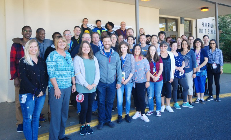 Knott Creek Staff