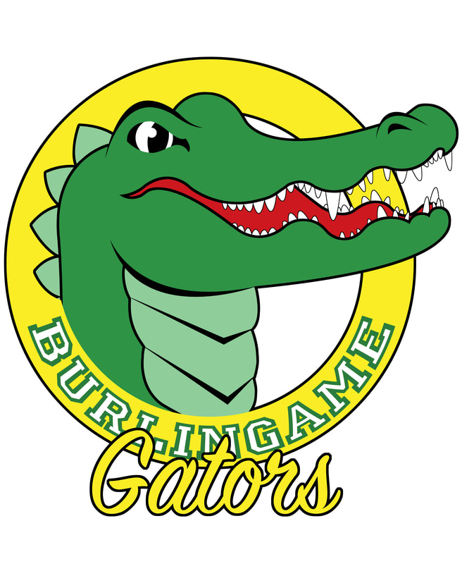 Burlingame Creek Gators Logo