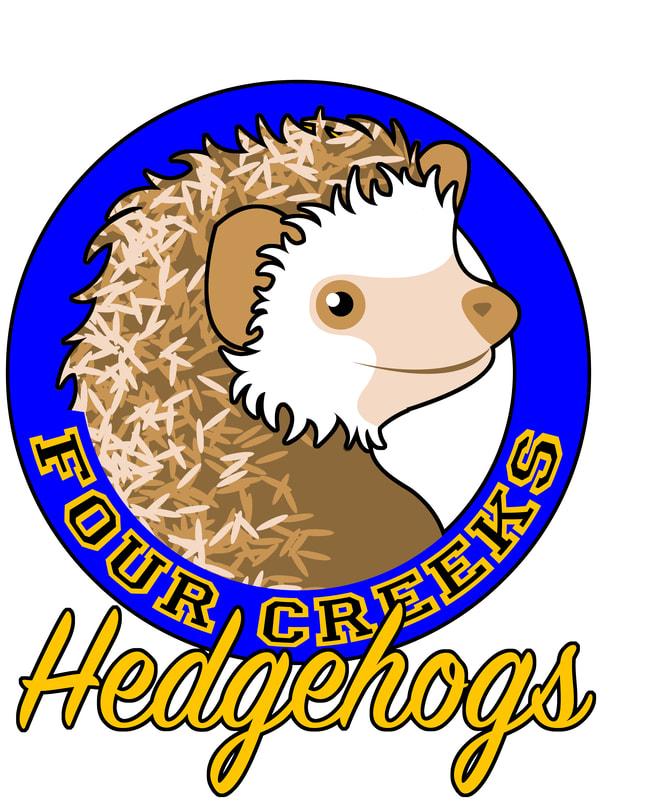 Four Creeks Hedgehogs Logo