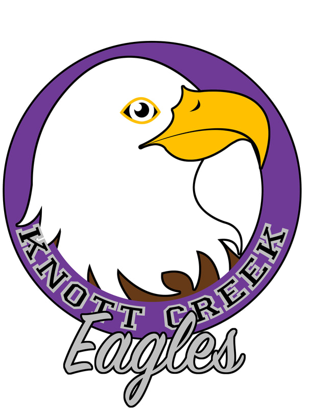 Knott Creek Eagles Logo