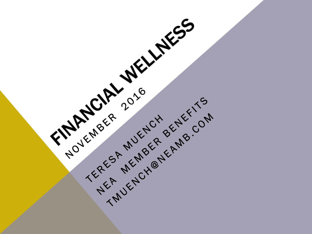 Financial Wellness First Page