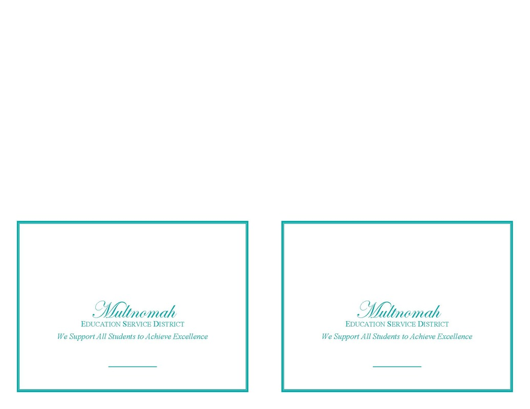 MESD Note Card Template